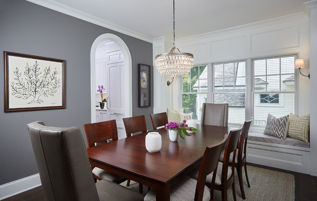 Traditional Dining Room by Francesca Owings Interior Design