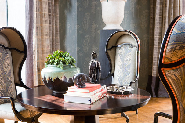 Traditional Dining Room by Thom Filicia Inc.