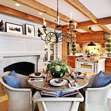 Traditional Dining Room by Kathleen McGovern Studio of Interior Design