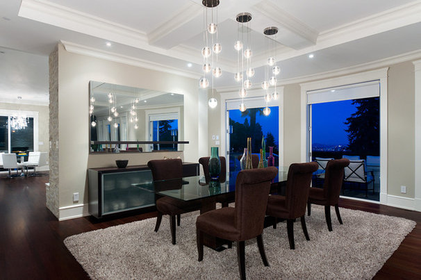 Contemporary Dining Room by Etheridge Home Renovation
