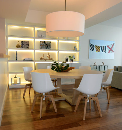 Beach Style Dining Room by Ba Design Group
