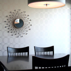 Contemporary Dining Room by Capstone Dwellings, Design-Build