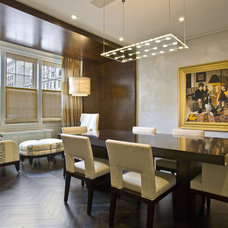 Contemporary Dining Room by Gustavson Dundes