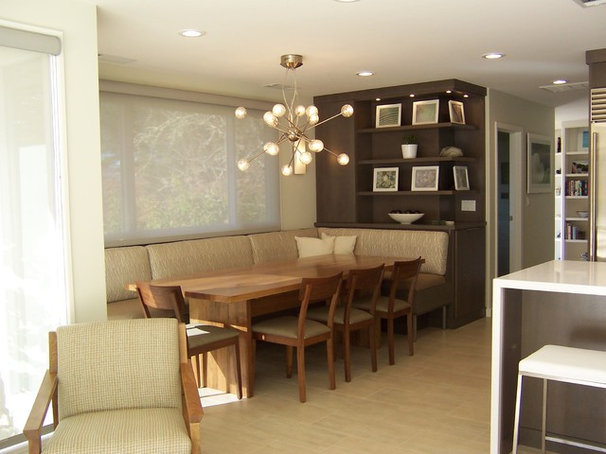 Contemporary Dining Room by hetherwick hutcheson design