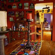 Eclectic Dining Room Hacienda de Diego
