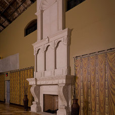 Traditional Dining Room by Millennium Cast Stone Interiors