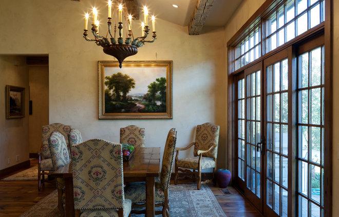 Rustic Dining Room by Gravitas, Inc.