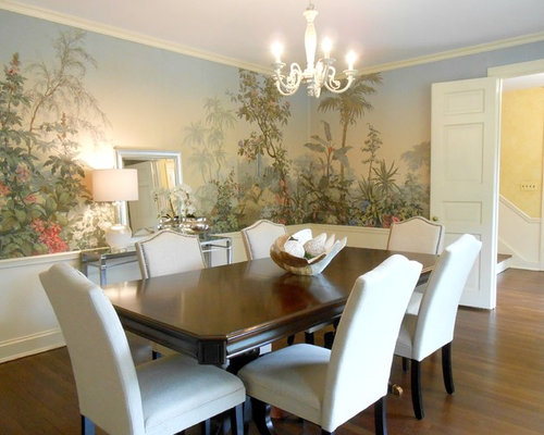 Houzz Wallpaper Dining Room: Scenic Wallpaper