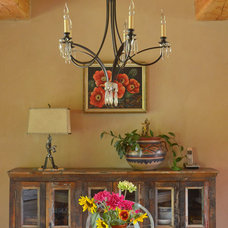 Rustic Dining Room by Sarah Greenman