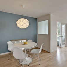 Modern Dining Room by Mike Strutt Design