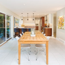Contemporary Dining Room by Cindy Ross Interior Design
