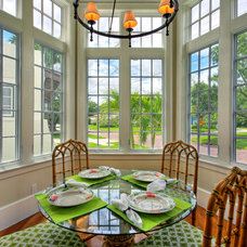 Tropical Dining Room by Cooper Johnson Smith Architects and Town Planners