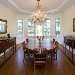 traditional dining room by Carter Inc Builders