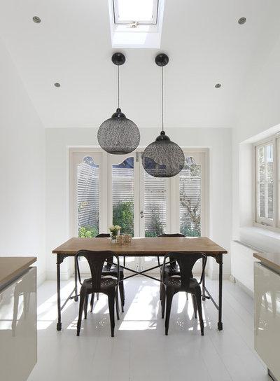 Contemporary Dining Room by Geraldine Morley Interior Design Ltd