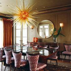 Contemporary Dining Room by TLA Studio