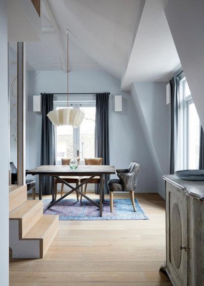 Scandinavian Dining Room by Indie & Co.