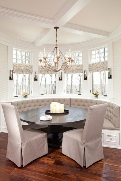 Traditional Dining Room by Eskuche Design