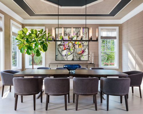 Top 100 Beach Style Dining Room Ideas & Decoration Pictures | Houzz
