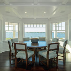 Beach Style Dining Room by Hamptons Habitat Enterprises Corp.