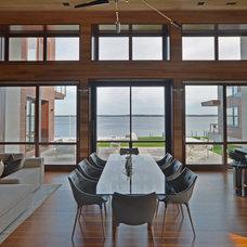 Modern Dining Room by Crescendo Designs, Ltd.