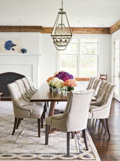 Magnificent Farmhouse Dining Room Design Ideas Remodels Photos Largest Home Design Picture Inspirations Pitcheantrous