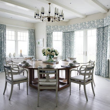 Beach Style Dining Room by Thorp Design