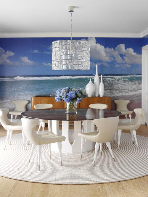 Living Room Wall Murals | Houzz