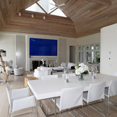 Contemporary Dining Room by Susanne Kelley Design