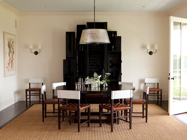 Transitional Dining Room by ALICE BLACK INTERIORS