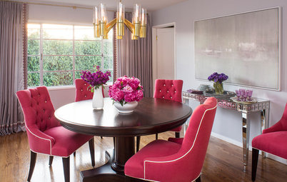 Houzz Tour: Transitional Style Layered With Pattern and Color