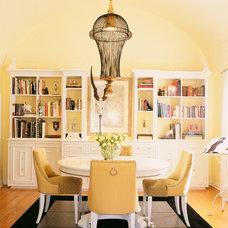 Transitional Dining Room by Darren Ransdell Design
