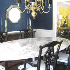 Eclectic Dining Room by maison21