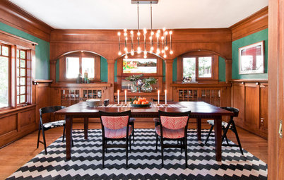 Houzz Tour: Patterns and Colors Flirt With Wood in Los Angeles