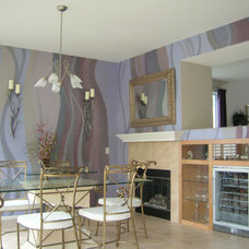 Contemporary Dining Room by Fine Art & Portraits by Laurel
