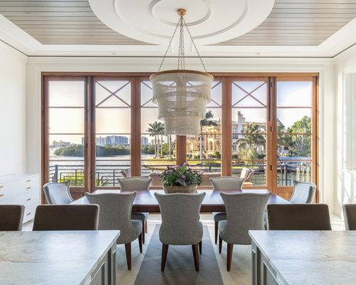 Beach Style Dining Room Ideas & Design Photos | Houzz