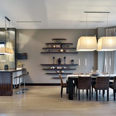 Contemporary Dining Room by S&A Decor
