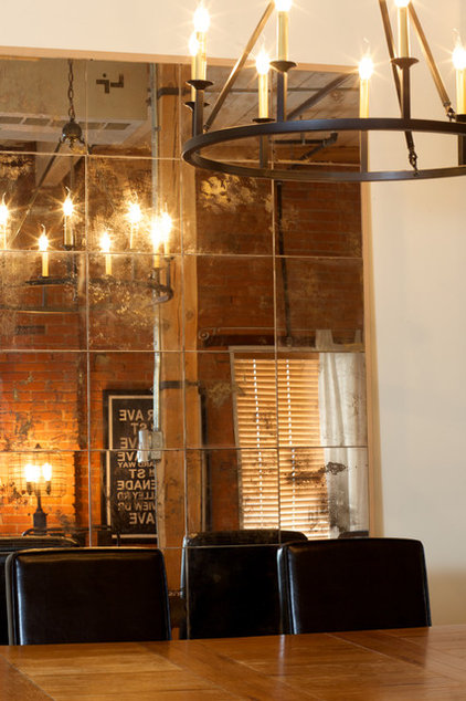 Industrial Dining Room by AMR Design