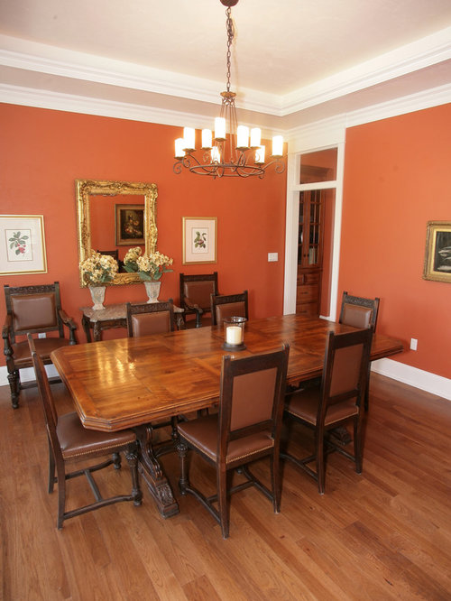 Dining room design ideas renovations photos with medium for Orange dining room design ideas