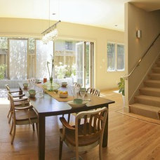 Contemporary Dining Room Hardy Group Builders
