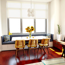 Contemporary Dining Room by Lauren Rubin Architecture