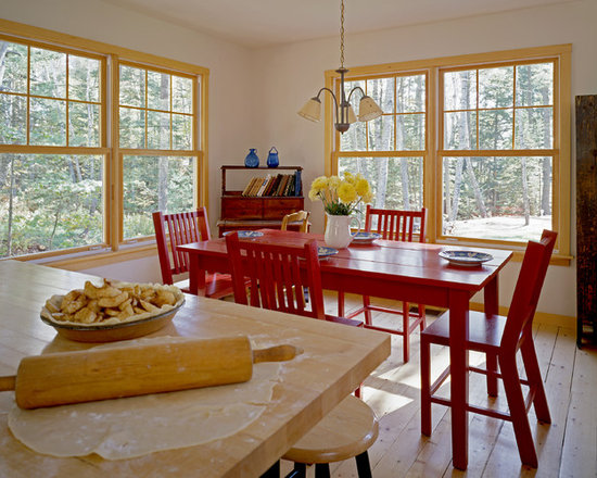 red dining | houzz