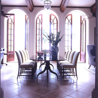 Wondrous 75 Beautiful Mediterranean Purple Dining Room Pictures Download Free Architecture Designs Scobabritishbridgeorg