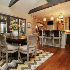Traditional Dining Room by Kerri Robusto Interiors