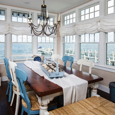 Beach Style Dining Room by Serenity Design