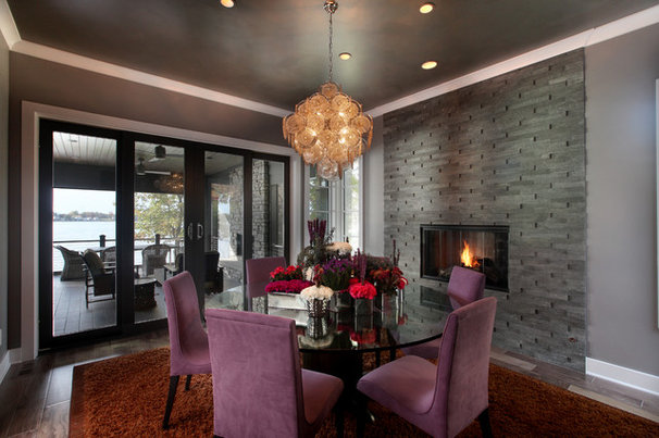 Contemporary Dining Room by Visbeen Architects