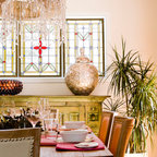 Holiday Eclectic Dining Room Vancouver By Maria Killam