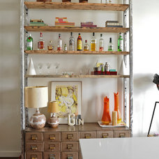 Eclectic Dining Room by A Good Chick To Know