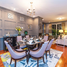 Traditional Dining Room by Haverford Homes
