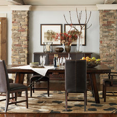 Transitional Dining Room by Havertys Furniture