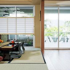 Asian Dining Room by Barker Kappelle Construction, LLC